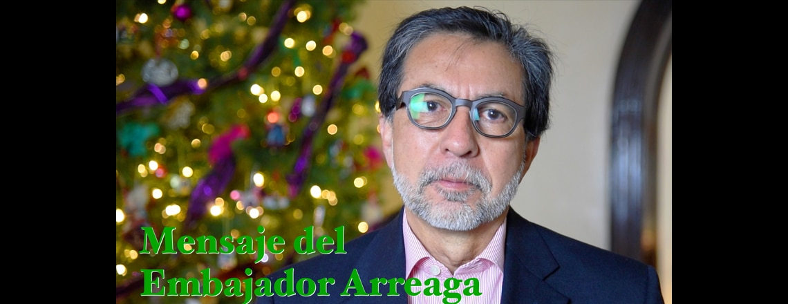 End of the year message from Ambassador Luis Arreaga
